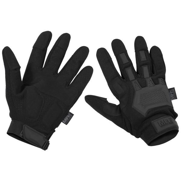 Tactical Handschuhe Action schwarz