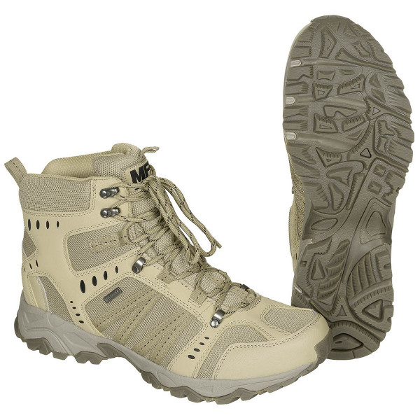 Einsatzstiefel Tactical wasserdicht coyote tan