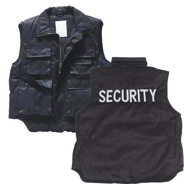 Einsatzweste Security schwarz