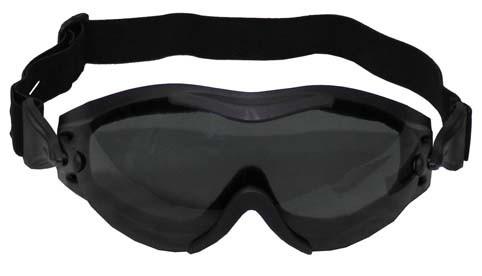 Brille Helikopter schwarz