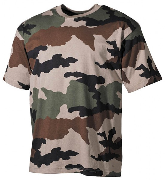 US T-Shirt halbarm CCE tarn