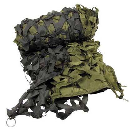 Tarnnetz oliv 3.00 x 6.00 m mit PVC Tragebeutel