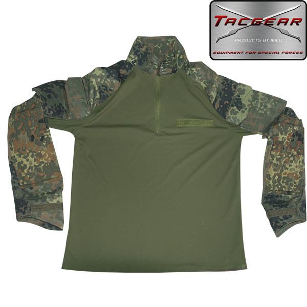 TACGEAR Combat Shirt - flecktarn - armyoutlet