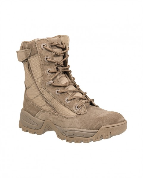 Tactical Boots Two Zip