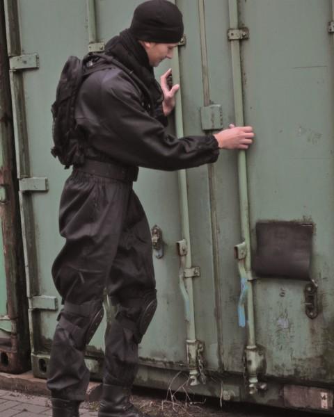 SWAT Security Kombi schwarz Miltec