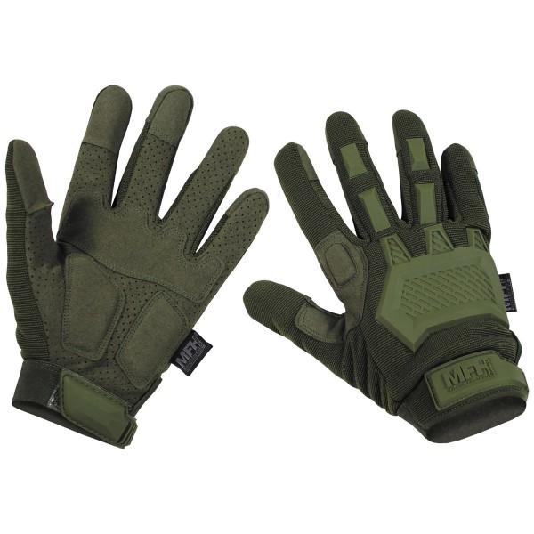 Tactical Handschuhe Action oliv