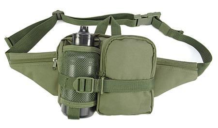 Hüfttasche mit Trinkflasche 0,5 l oliv