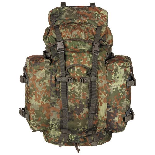 MFH BW Mountain Rucksack 100 L - flecktarn - vorn - armyoutlet