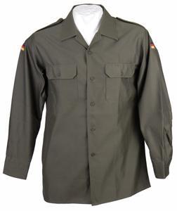 Original Bundeswehr Feldhemd oliv