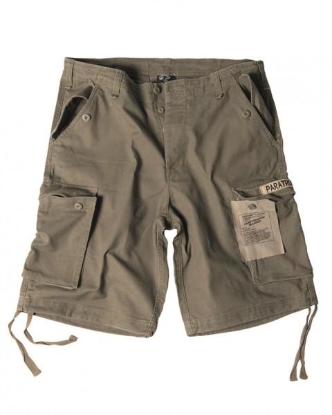 Paratrooper Shorts Prewash oliv