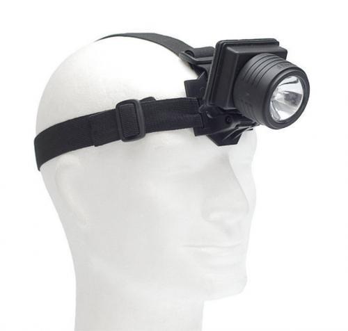 Stirnlampe II schwarz