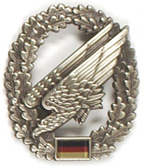 Original BW Barettabzeichen Metall