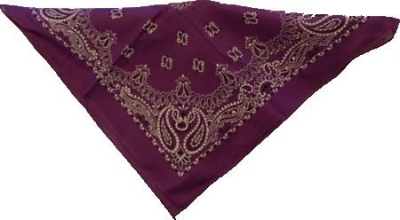 Bandana violett