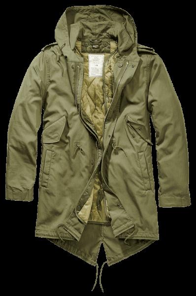 Brandit M51 US Parka oliv vorn - armyoutlet.de