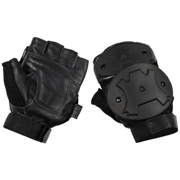 Tactical Handschuhe ohne Finger mit Knöchelschutz