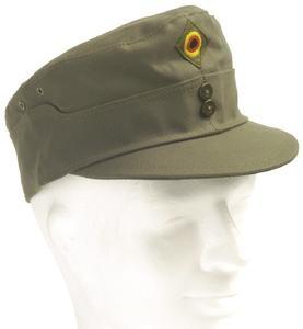 Original Bundeswehr Feldmütze oliv