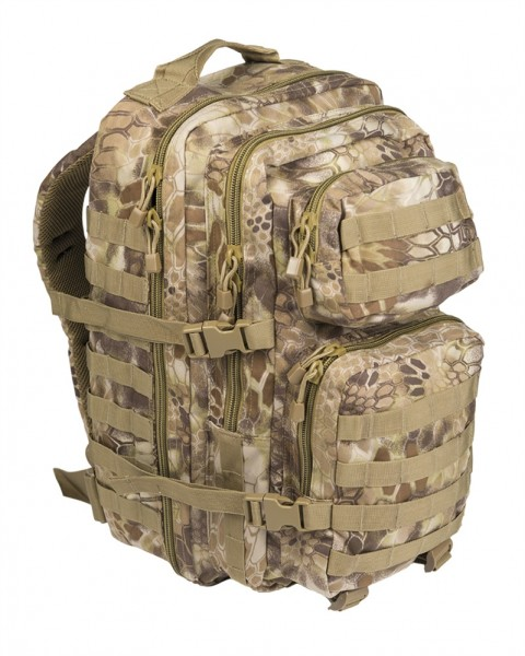 US Assault Pack Rucksack large mandra tan