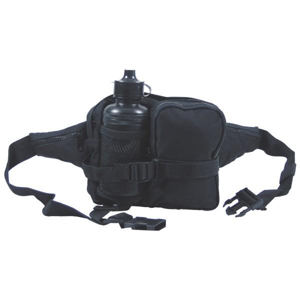 Hüfttasche mit Trinkflasche 700 ml schwarz