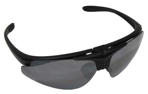 Armee Sportbrille Hawk schwarz