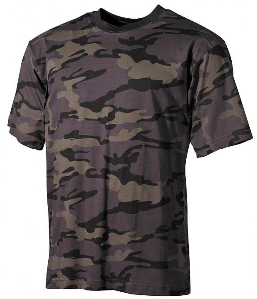 US T-Shirt halbarm combat camo
