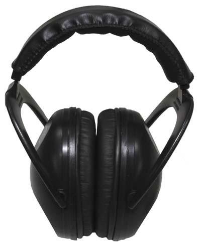 Universal Kapselgehörschutz schwarz