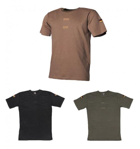 BW Tropenhemd mit Klett und Nationalitätsabzeichen 3 Farben
