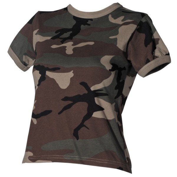 Damen US T-Shirt woodland
