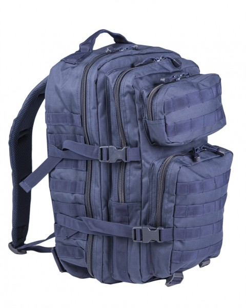 US Assault Pack Rucksack large dunkelblau