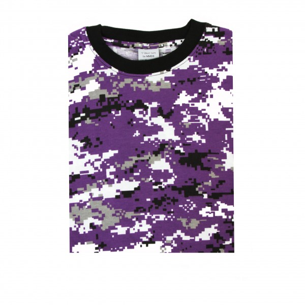 Tarn T-Shirt lila digital