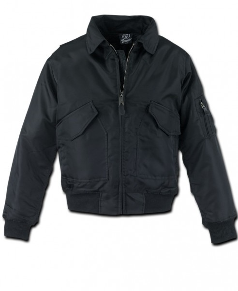 Brandit CWU Jacke schwarz
