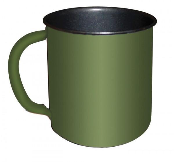 Feld Tasse 0,3 l oliv flecktarn