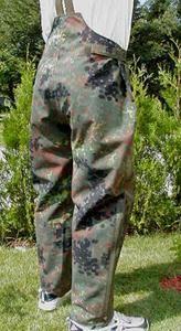 Original Bundeswehr Goretex Regenhose flecktarn