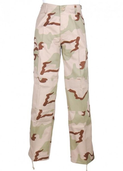 US BDU Damen Hose 3 color desert
