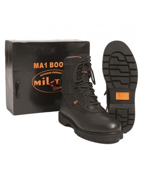 MA1® Boots mit Stahlkappe schwarz