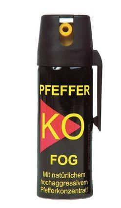 K.O. FOG Verteidigungsspray Pepper Spray 50ml