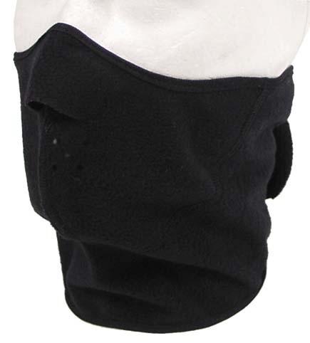 Thermo Kälteschutzmaske schwarz