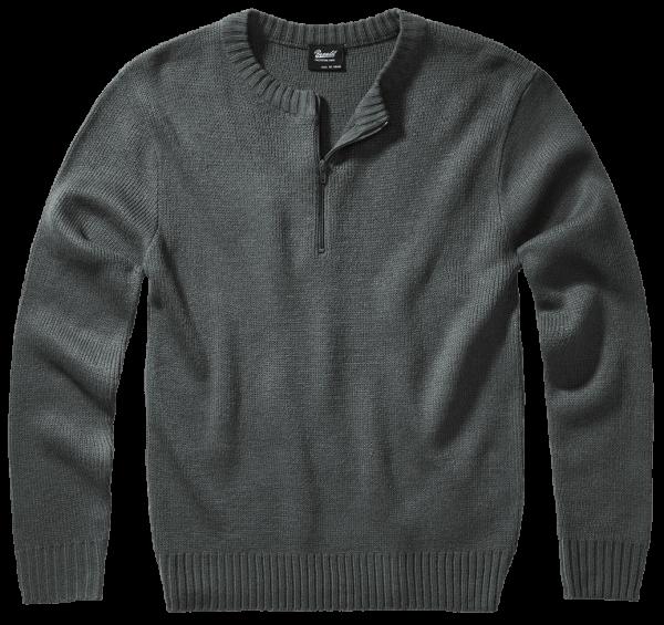 Brandit Armee Pullover - anthracite - vorn - armyoutlet