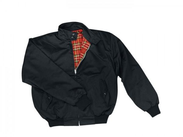 Harrington Jacke schwarz