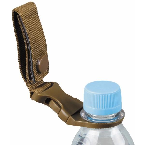 Flaschenhalter für Gürtel und Molle System coyote mit Flasche - armyoutlet.de
