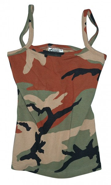 Damen Tank-Top woodland
