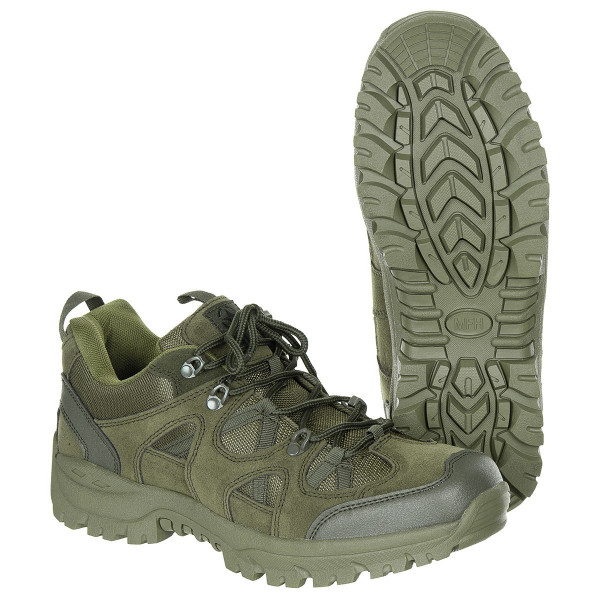 Halbschuhe Tactical Low oliv armyoutlet.de