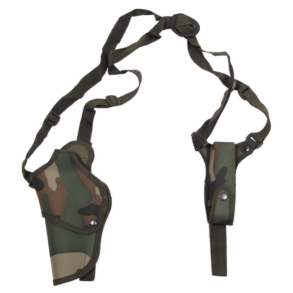 Pistolenschulterholster links - woodland - armyoutlet