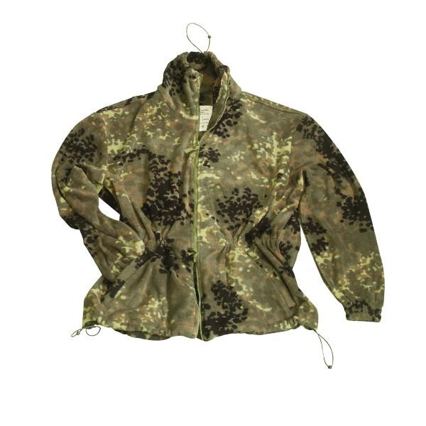 MMB Camouflage Fleecejacke