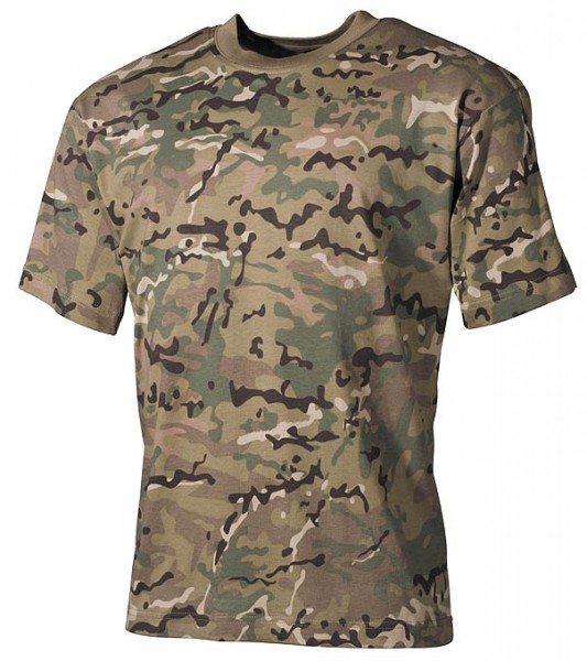US T-Shirt halbarm operation camo