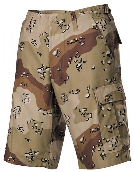US Bermuda-Shorts 6-Farben-Desert