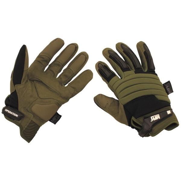 Tactical Fingerhandschuhe Operation