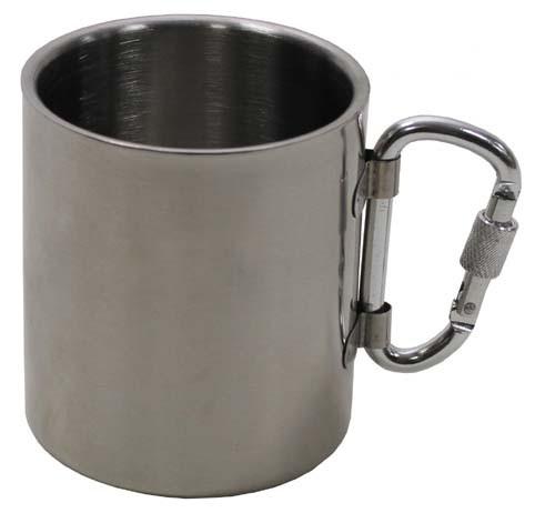 Tasse mit Karabiner 300 ml
