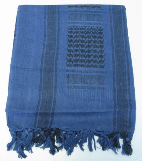 PLO - Shemagh Tuch blau-schwarz