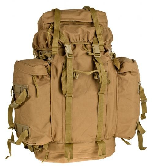 BW Mountain Rucksack coyote tan