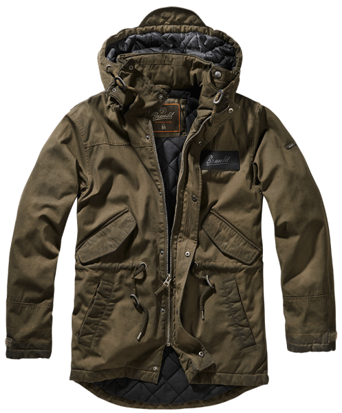 Brandit Nile coated Parka MEN oliv